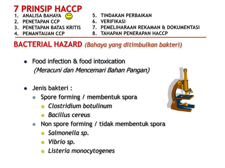 Food infection & food intoxication
