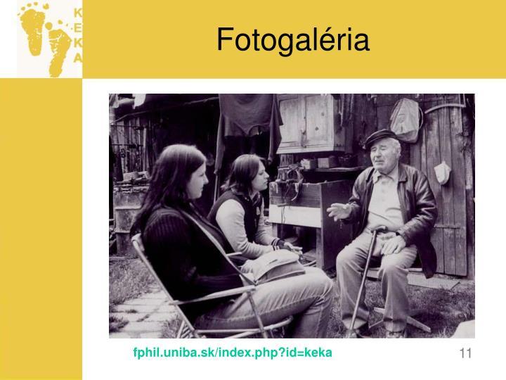 Fotogaléria
