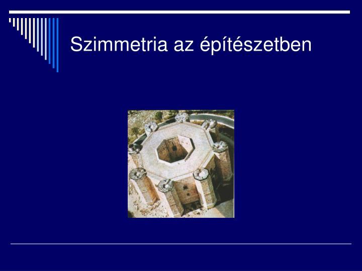 Szimmetria az építészetben