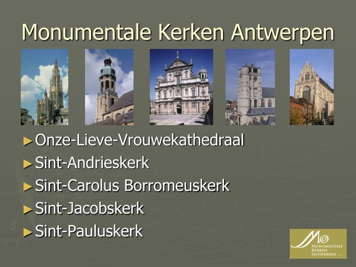 Monumentale Kerken Antwerpen
