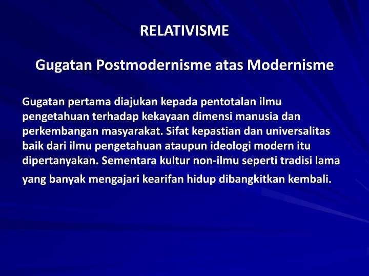 RELATIVISME