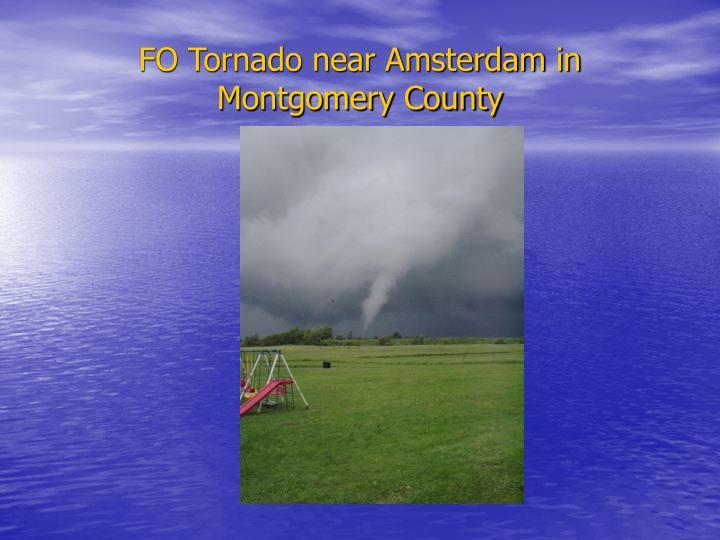 FO Tornado near Amsterdam in