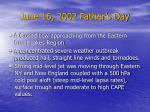 june 16 2002 father s day