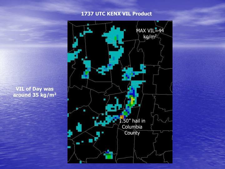 1737 UTC KENX VIL Product