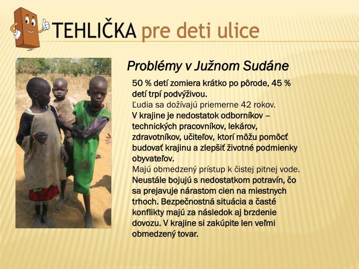 Problémy v Južnom Sudáne