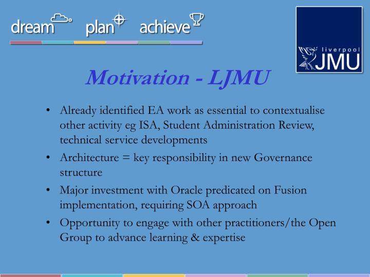 Motivation - LJMU
