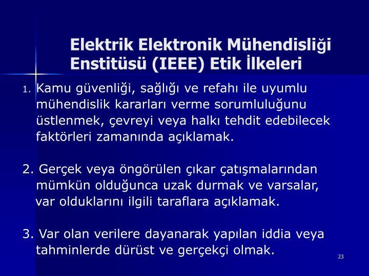 Elektrik Elektronik Mhendisli