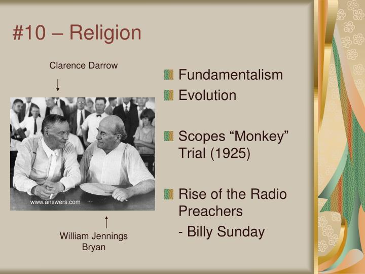 #10 – Religion