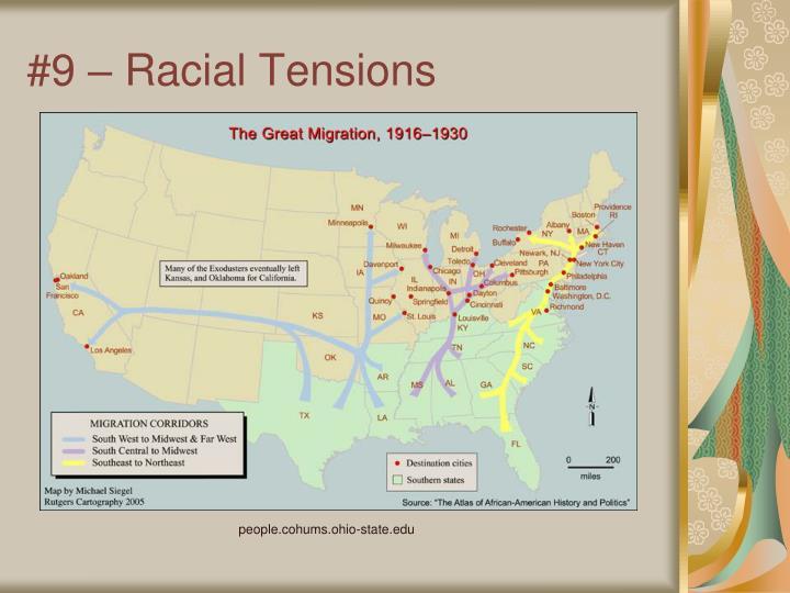 #9 – Racial Tensions