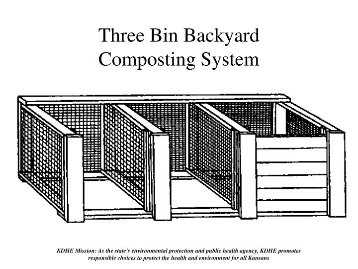 Three Bin Backyard