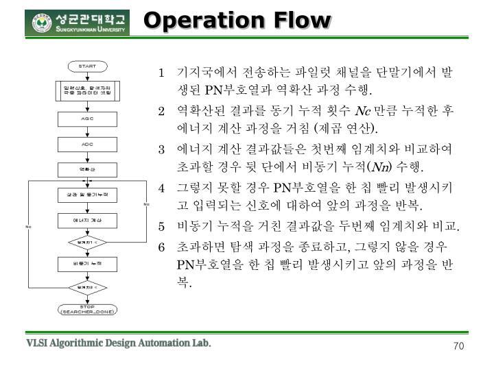 Operation Flow