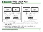 three input alu ovadia bat sheva 1998