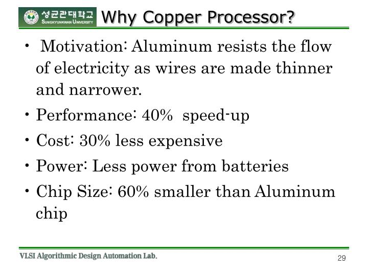 Why Copper Processor?
