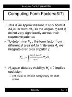 computing form factors 6 7