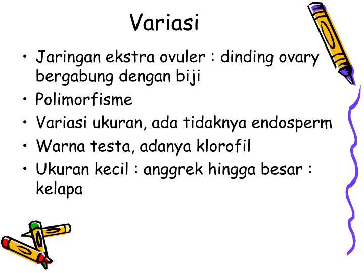 Variasi