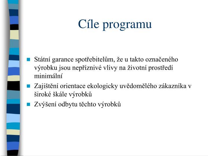 Cle programu