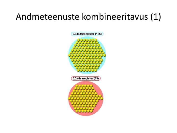 Andmeteenuste kombineeritavus (1)