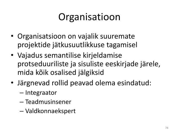 Organisatioon