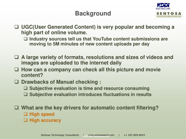 UGC(User Generated Content) is very popular and becoming a high part of online volume.