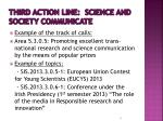 third action line science and society communicate
