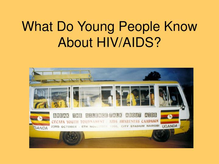 What Do Young People Know About HIV/AIDS?