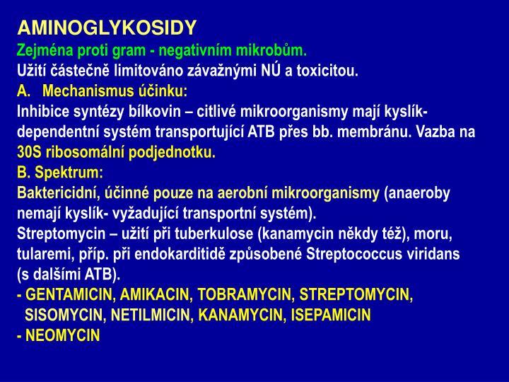 AMINOGLYKOSIDY