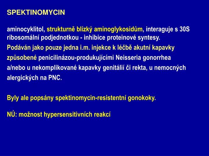 SPEKTINOMYCIN
