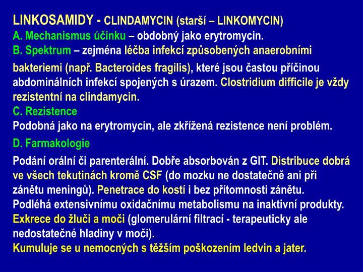 LINKOSAMIDY -