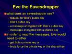 eve the eavesdropper