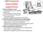 hgp projesinin biyomedikal uygulamalar