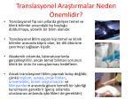 translasyonel ara t rmalar neden nemlidir