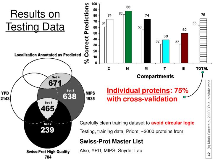 Results on Testing Data