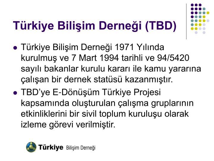 Türkiye Bilişim Derneği (TBD)