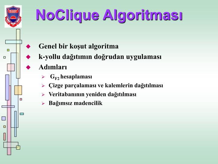 NoClique Algoritması