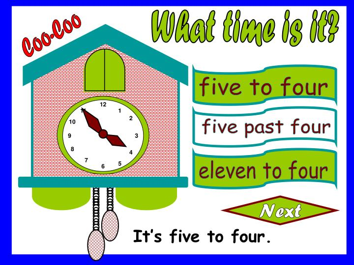 five to four