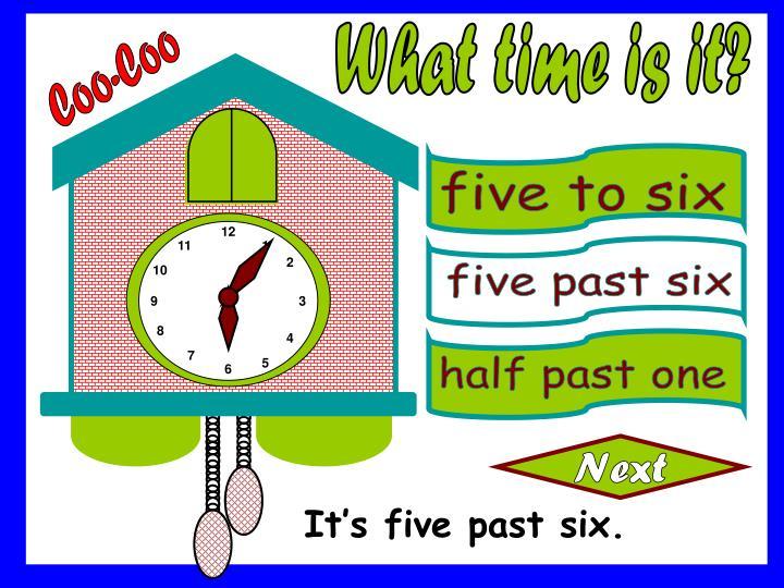five to six