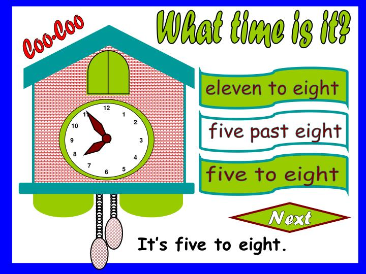 eleven to eight