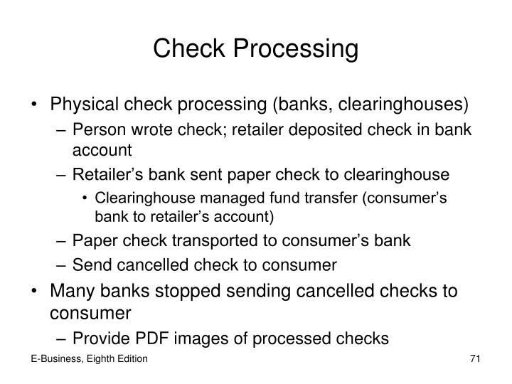 Check Processing