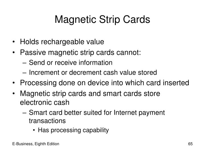 Magnetic Strip Cards