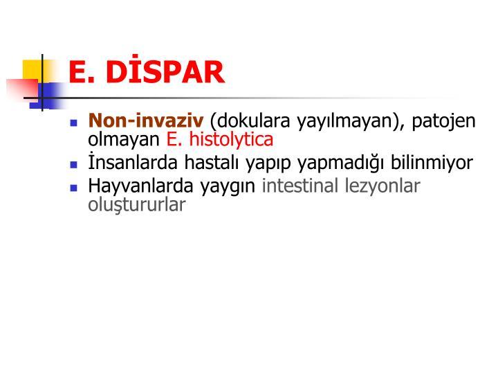 E. DİSPAR