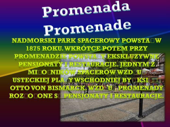 Promenada Promenade