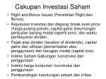 cakupan investasi saham1