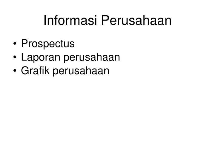 Informasi Perusahaan
