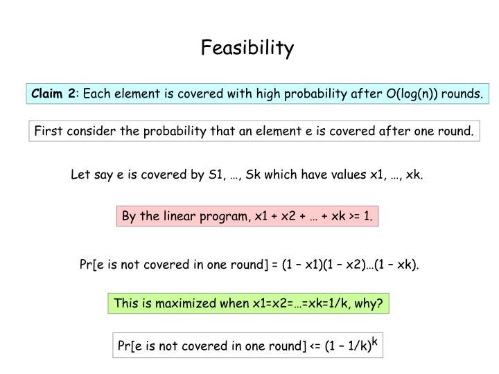 Feasibility