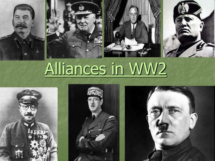 Alliances in ww2