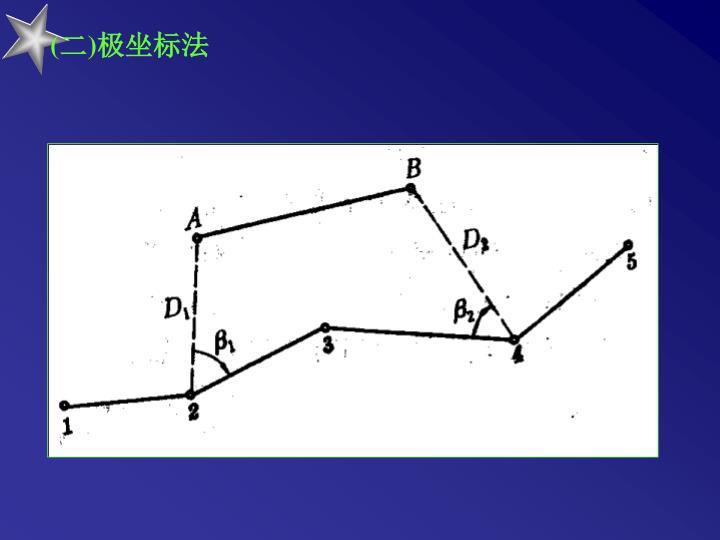 (二)极坐标法