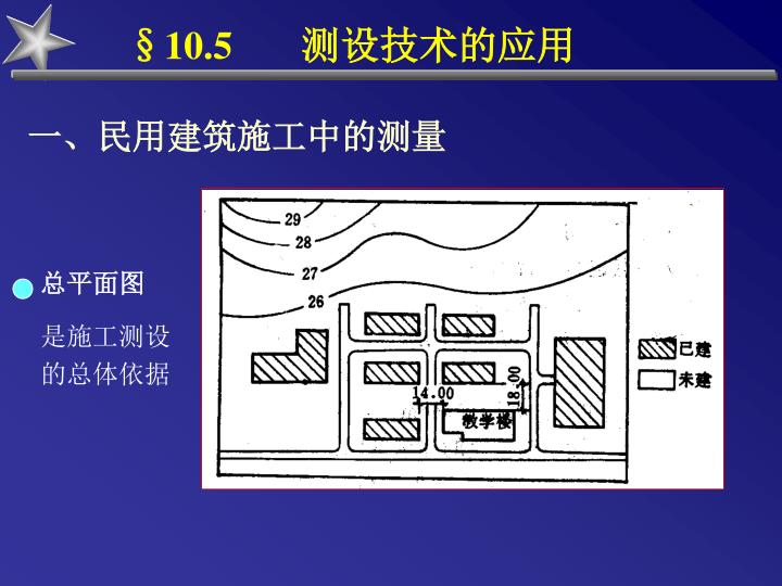 §10.5       测设技术的应用