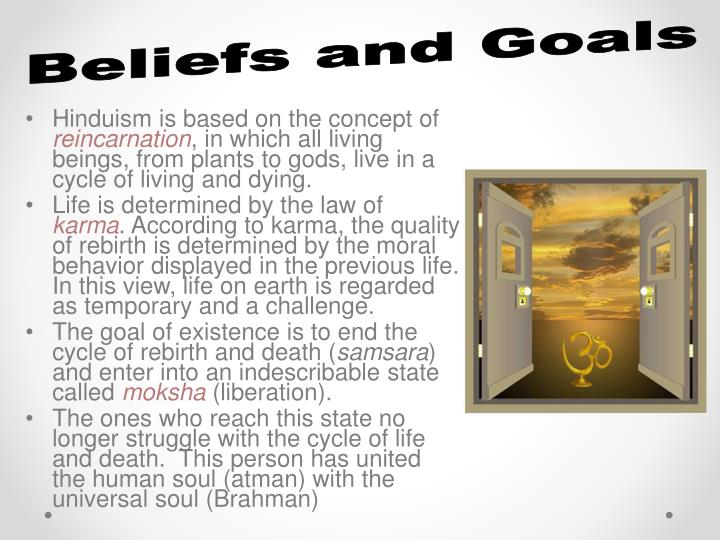 Beliefs and Goals