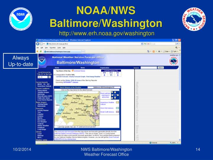 NOAA/NWS
