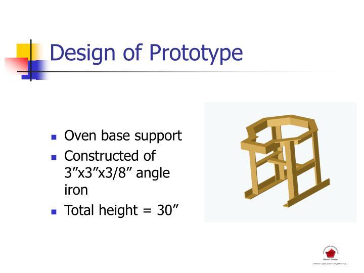 Design of Prototype